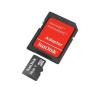Micro SDHC CARD 16GB SANDISK + SD adapter memóriakártya