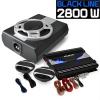 Electronic-Star 2.1 Autó HiFi szett BlackLine 340, erosíto, hangfalak, subw.