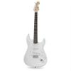 Chord CAL63 elektromos gitár, fehér, 6 húros, éger/jávorfa