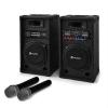 Electronic-Star Karaoke szett STAR-10 hangfalak, vezeték nélküli mikrofonok
