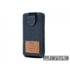 Redpoint iPhone 4/4S méretű textil slim tok,Farmer