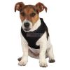 TRIXIE textil hám+póráz puppy szett 1x33-47/2 m fekete