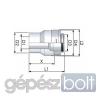 Tricox PPs/Alu bővítő 100/150mm-110/150mm