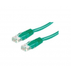 ROLINE Cable ROLINE UTP CAT5e patch 1m zöld