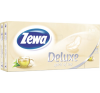 ZEWA Zewa Deluxe papírzsebkendő 10x10db Zöld Tea higiéniai papíráru