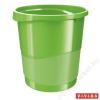 ESSELTE Papírkosár, 14 liter, ESSELTE Europost, Vivida zöld (E623950)
