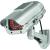 Conrad Napelemes álkamera, infra szimulációval, 210x92 mm, 3 V, Conrad Dummy
