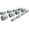 Vigor Sokszögű dugókulcsfej készlet 6,3 mm (1/4), 12 részes, Vigor V1897