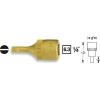 Hazet Egyeneshornyú csavarhúzófej 0,6 x 3,5 mm, 6,3 mm (1/4), Hazet 8503-0.6X3.5