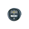 Bauser Autós akkufeszültség és üzemóra számláló műszer 12V 0 - 99999.9 h Ø 52 mm Bauser 830