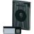 Heidemann Vezeték nélküli ajtócsengő max.200m 433MHz ezüst-fekete színben Heidemann HX 70846