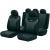 GOODYEAR Univerzális autós üléshuzat készlet, 9 részes, antracit/fekete, Goodyear 75529