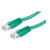 ROLINE UTP CAT6 patch kábel 1m, zöld