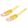 ROLINE UTP CAT5e patch kábel 3m, sárga