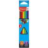 MAPED Színes ceruza készlet, háromszögletű, MAPED
