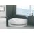 Niagara Wellness Fiona 150x100 asszimetrikus Balos fürdőkád