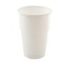Műanyag pohár, 5 dl, fehér tányér és evőeszköz