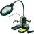 Toolcraft LED-es nagyítós lámpa harmadik kézzel TOOLCRAFT, 2X6 4X (3,5/11,8 dioptria) Lencse Ø: 95/25 mm