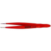 Bernstein Nikkelezett műszerész csipesz védőszigeteléssel egyenes/finom/hegyes heggyel, 120 mm, Bernstein 5-121-6
