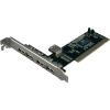 LogiLink 4+1 portos USB 2.0 PCI kártya, LogiLink WL0006