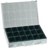 Alutec Tároló doboz, 335 x 250 x 53 mm, 18 rekeszes, Alutec 10500
