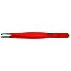Bernstein Nikkelezett műszerész csipesz védőszigeteléssel egyenes/kerek/széles heggyel, 145 mm, Bernstein 5-117-6