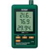 Extech USB-s SD kártyás mérés adatgyűjtő LCD kijelzővel hőmérésklet, páratartalom, légnyomás adatgyűjtő 20000 adattárolással 2GB-on Extech SD700