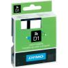 DYMO feliratozószalag D1, 24mm, átlátszó/fekete, S0720920