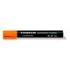 STAEDTLER Alkoholos marker, vágott, STAEDTLER Lumocolor 350, narancssárga (TS3504)