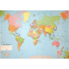 A Föld országai 124x86 cm Műanyag léccel