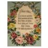 Üveglapos falikép, Házi áldás 21X30 cm