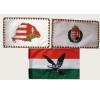 3 db kis zászló (15x25 cm) III. dekoráció