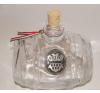Üveghordó ón Erdély címerrel 0,5 liter ajándéktárgy