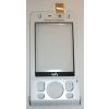Sony Ericsson W910 előlap plexivel fehér*