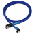 Nanoxia SATA-III-Kábel 45cm - Kék