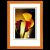 Hama Lindau képkeret 13x18 narancs