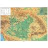 Stiefel Eurocart Kft. Magyar történeti emlékek a Kárpát-medencében fémléces térkép
