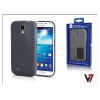 Samsung Samsung i9500 Galaxy S4 hátlap - V7 FlexSlim - szürke