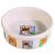 Trixie Tál kerámia nyúlaknak nyúl mintával 240ml / 11cm fehér