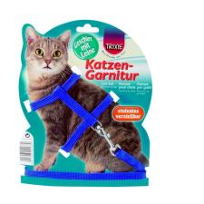 Trixie Hám és póráz macskának 22-42cm/10mm 1,25m nyakörv, póráz, hám macskáknak