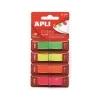 """APLI """"Z"""" jelölőcímke, fluoreszkáló, 160 db/csomag"""