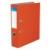 VICTORIA Iratrendező, 75 mm, A4, PP/karton, VICTORIA, narancs