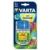 Varta Elemtöltő, AA ceruza/AAA mikro, 4x2600 mAh AA, LCD kijelző, 12V USB, VARTA