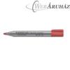Flipchart marker, kúpos, STAEDTLER Lumocolor 356, piros