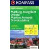 WK 2802 - Marburg-Pomurje-Drautal turistatérkép - KOMPASS