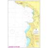 Ulcinj - Durres hajózási térkép - Naval-Adria 100-30