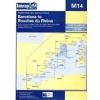 Barcelona to Bouches du Rhône Chart M14 - Imray