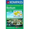 WK 727 - Borkum turistatérkép - KOMPASS