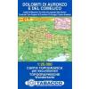 Dolomiti di Auronzo e del Comelico térkép - 017 Tabacco