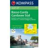 WK 695 - Basso Garda-Gardasee Süd turistatérkép - KOMPASS